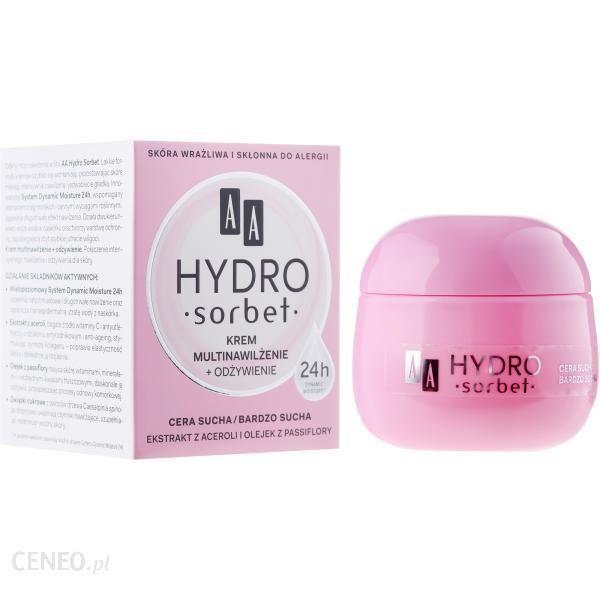 AA Hydro Sorbet krem do twarzy multinawilżenie + odżywienie 50ml