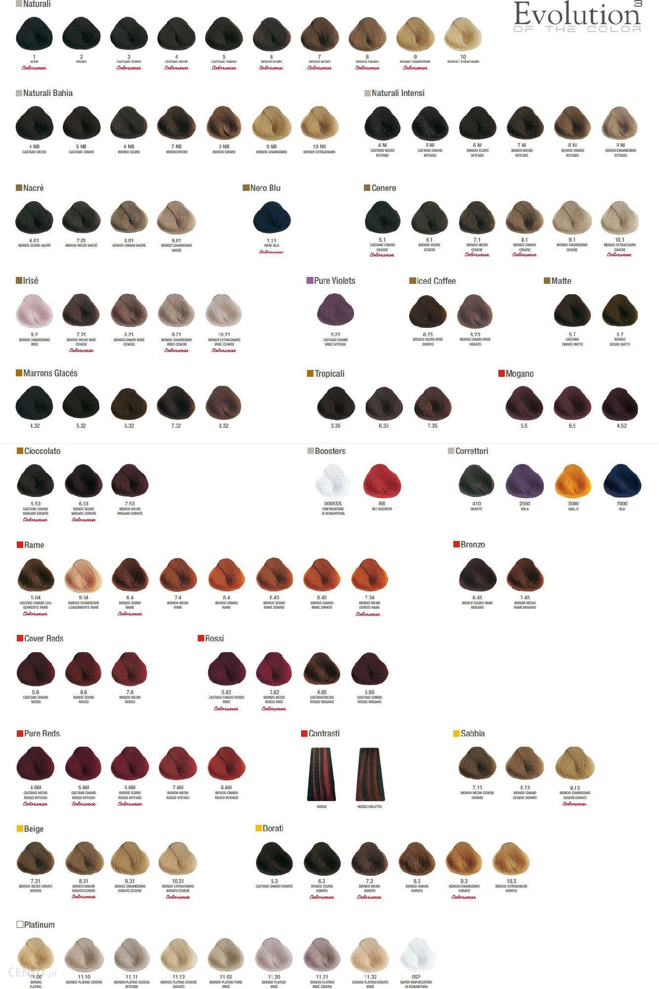 Alfaparf Evolution Of The Color Cube Farba do Włosów 01 60ml