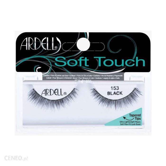 Ardell Soft Touch 153 Black Sztuczne Rzęsy Na Pasku