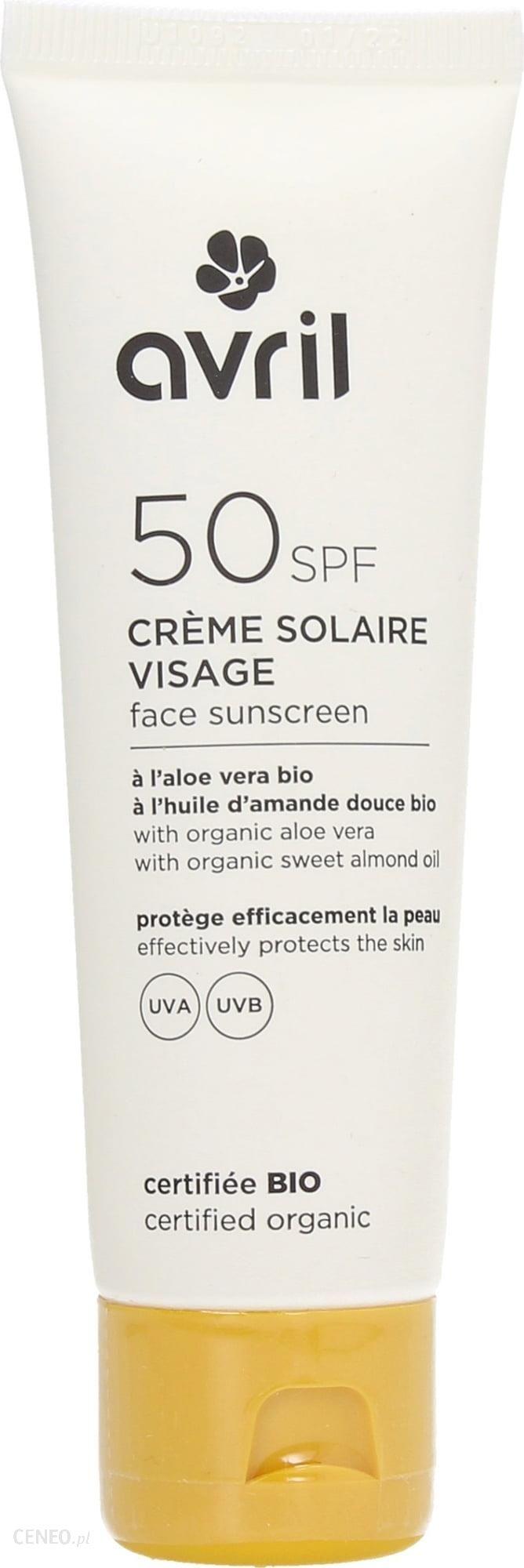 avril Face Sunscreen krem przeciwsłoneczny SPF 50 50ml