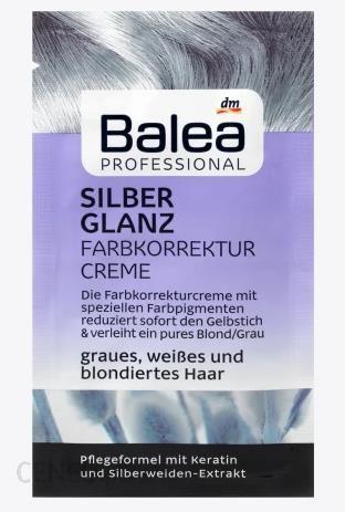Balea Krem korygujący srebrny połysk 20 ml