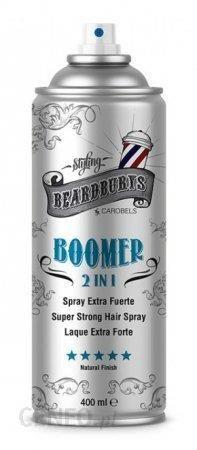 Beardburys Boomer lakier do włosów 2w1 400ml