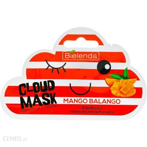 Bielenda Cloud Mask Bąbelkująca Maseczka Energetyzująca Mango Balango