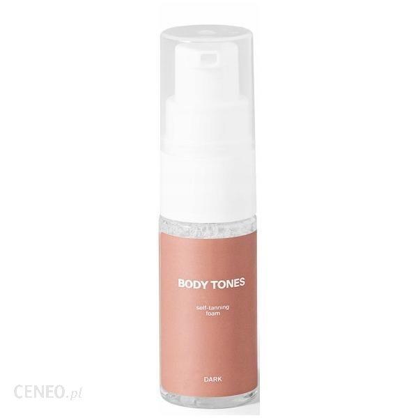 Body Tones Samoopalacz W Piance Do Ciała Self-Tanning Foam Dark 30Ml
