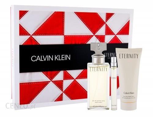 Calvin Klein Eternity woda perfumowana 100ml + woda perfumowana 10ml + mleczko do ciała 100ml