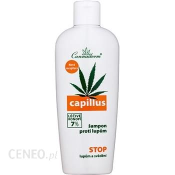 Cannaderm Capillus szampon przeciwłupieżowy 7% Healing Hemp 150ml