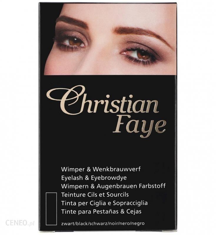 Christian Eyelash & Eyebrow Dye Farba do rzęs i brwi BLACK