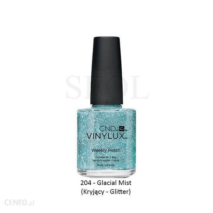 CND Vinylux Lakier Hybrydowy 204 Glacial Mist 15ml