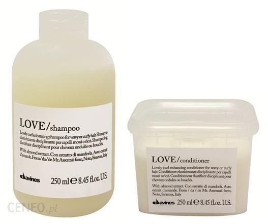 Davines Love Curl zestaw do loków: szampon+odżywka 2x250ml