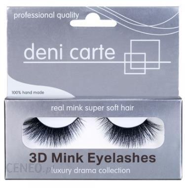 Deni Carte 3D Mink Eyelashes A-12 Sztuczne rzęsy