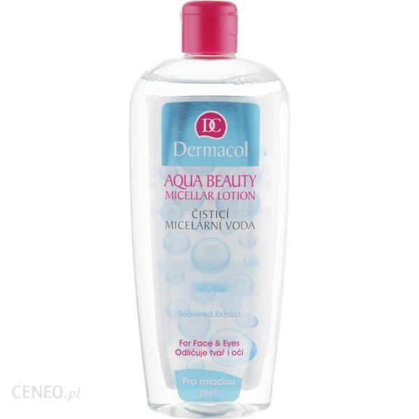 Dermacol Aqua Beauty Micellar Lotion Płyn micelarny do oczyszczania twarzy 400ml