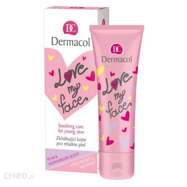 Dermacol Love My Face Krem Do Twarzy Dla Młodej Cery Pear&Watermelon 50Ml