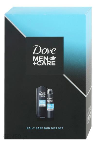 Dove Men+Care Zestaw Clean Comfort Żel Pod Prysznic 250Ml +Antyperspirant 150Ml