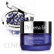 Dr Irena Eris Neometric Set ZESTAW Kapsułki redukujące zmarszczki wokół oczu i ust 45 szt. + Krem aktywujący młodość skóry na noc 50 ml