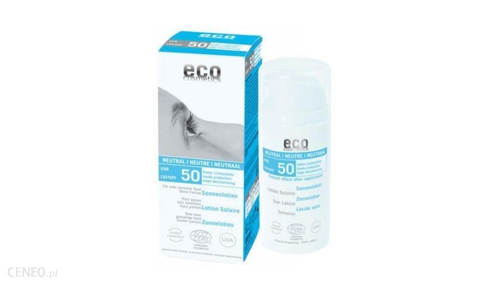 Eco Cosmetics Emulsja Na Słońce Spf50 Neutral 100ml