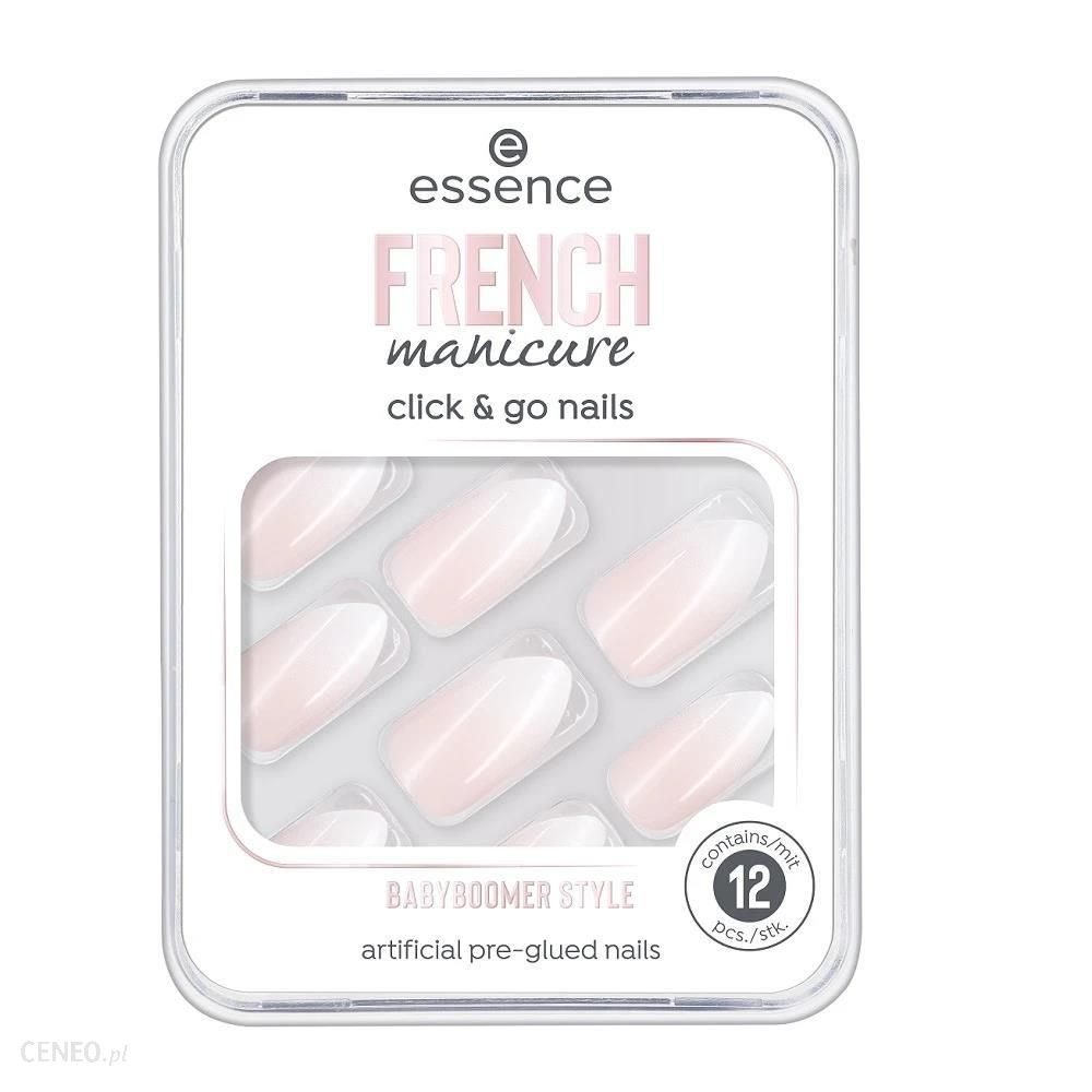Essence French Manicure Click & Go Nails sztuczne paznokcie 02 Babyboomer Style 12szt