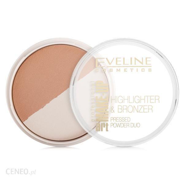 Eveline Art Professional Make-Up Puder Brązująco-Rozświetlający 57 12g