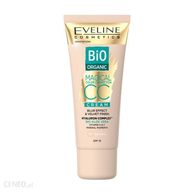 Eveline Cosmetics BIO ORGANIC Krem Magical CC z mineralnymi pigmentami 02 Natural 30ml