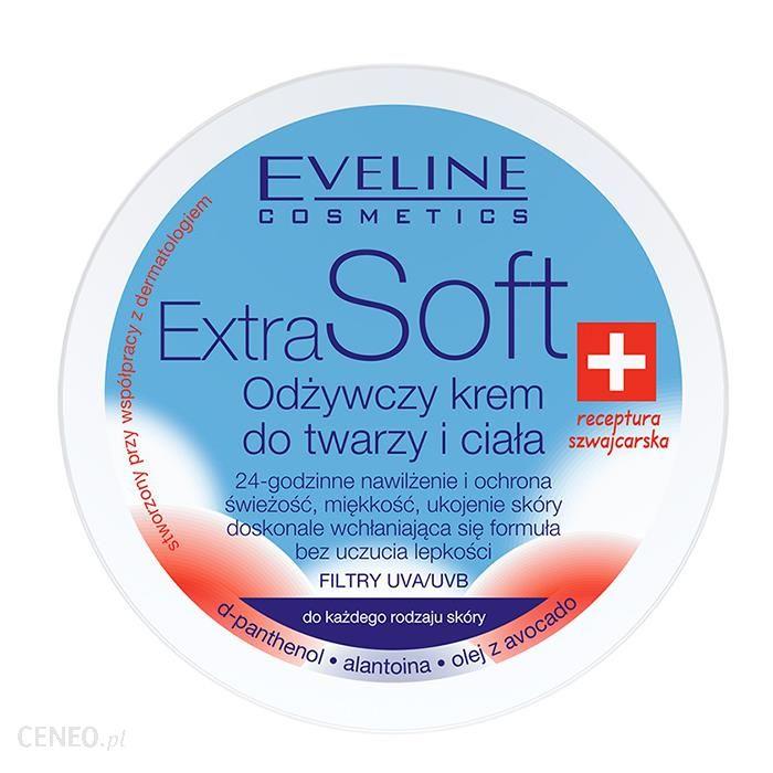 Eveline Extra Soft Odżywczy Krem do twarzy i ciała do każdego rodzaju skóry 200ml