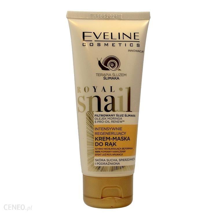 Eveline Royal Snail krem maska do rąk intensywnie regenerujący 100ml