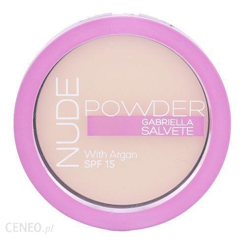 Gabriella Salvete Nude Powder Spf15 Puder do Twarzy 01 Pure Nude 8g
