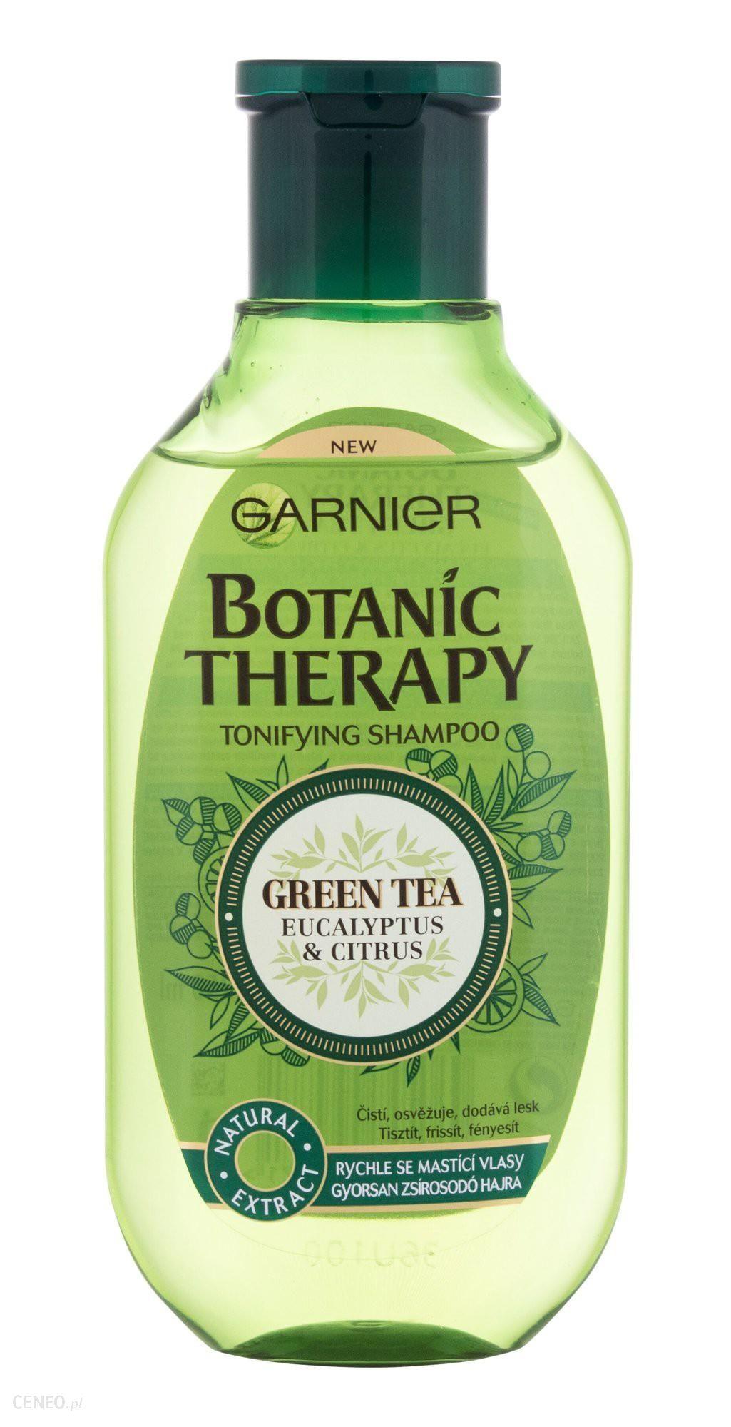 Garnier Botanic Therapy Green Tea Eucalyptus & Citrus Szampon do włosów 250ml