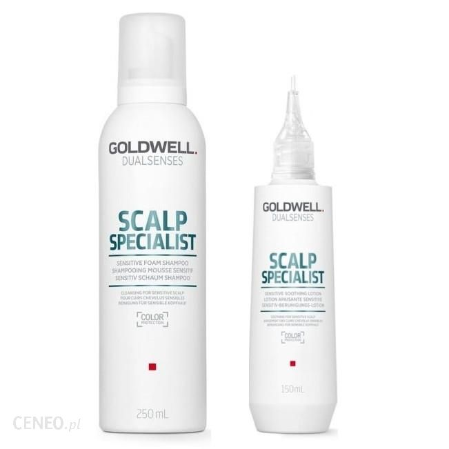 Goldwell Dualsenses Scalp Specialist Zestaw Do Wrażliwej Skóry Głowy: Szampon W Piance 250Ml + Emulsja 150Ml