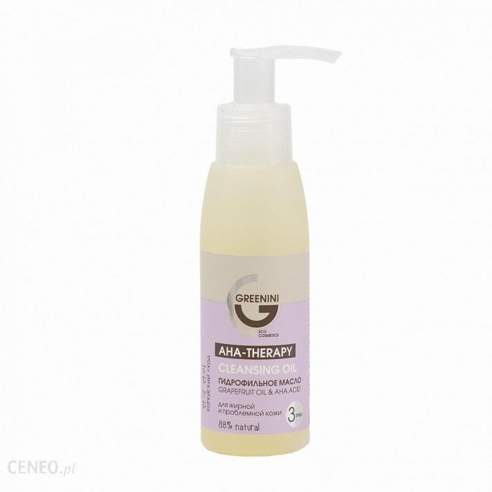 Greenini Aha Oczyszczający Olejek Hydrofilowy Do Mycia Twarzy