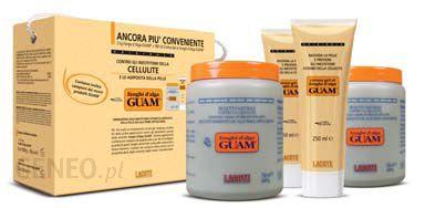 GUAM Fanghi d'Alga ECONOMY PACK Koncentrat wyszczuplający i antycellulite 2 x 1 kg 2 x żel 250ml