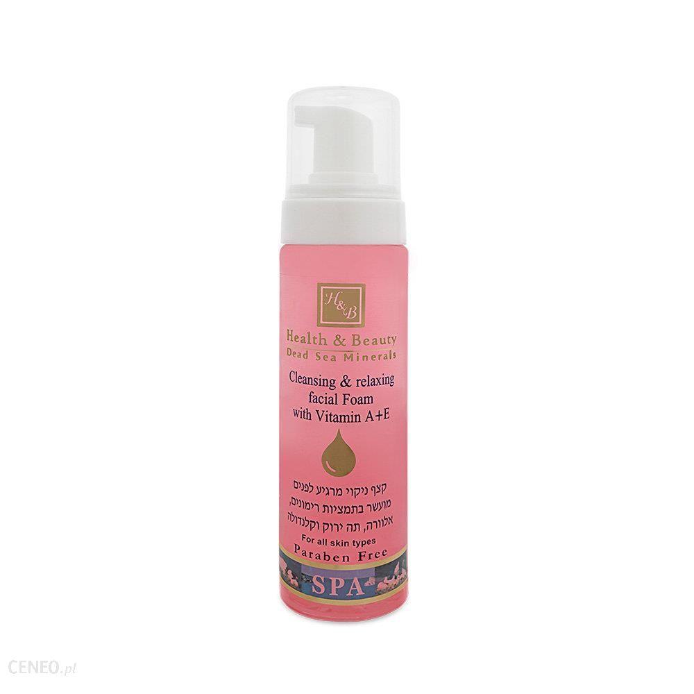 Health&Beauty-Izrael Pianka oczyszczająco kojąca do mycia twarzy minerały z Morza Martwego Health& Beauty 225ml