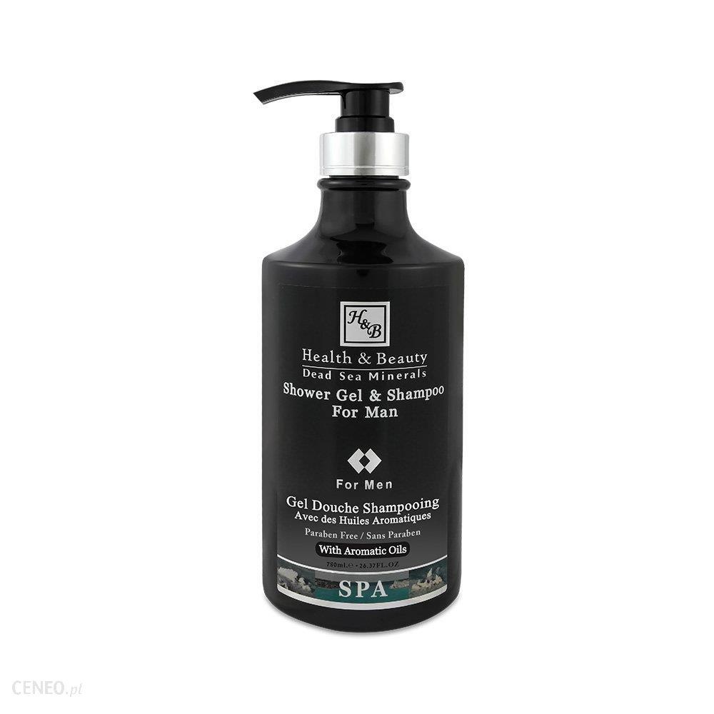 Health & Beauty Żel do kąpieli i szampon dla mężczyzn (2 w 1) 780 ml
