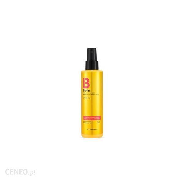 Holika Biotin Style Care Ultra Fixing Spray Do Stylizacji Włosów Z Biotyną 180Ml