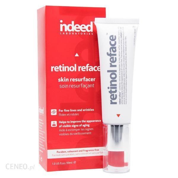 Indeed Retinol Reface Efekt nowej skóry i intensywna kuracja przeciwzmarszczkowa 30ml