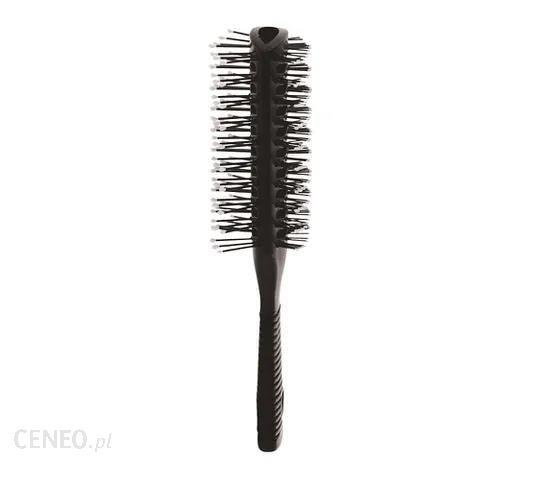 Inter Vion Antistatic Hair Brush szczotka przelotowa dwustronna z gumową rączką