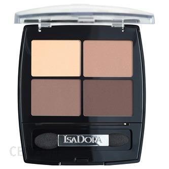 IsaDora Eye Shadow Quartet cienie do powiek 44 Muddy Nudes
