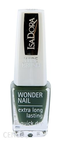 IsaDora Wonder Nail Wide Brush Lakier do paznokci 706 In The Army 6ml