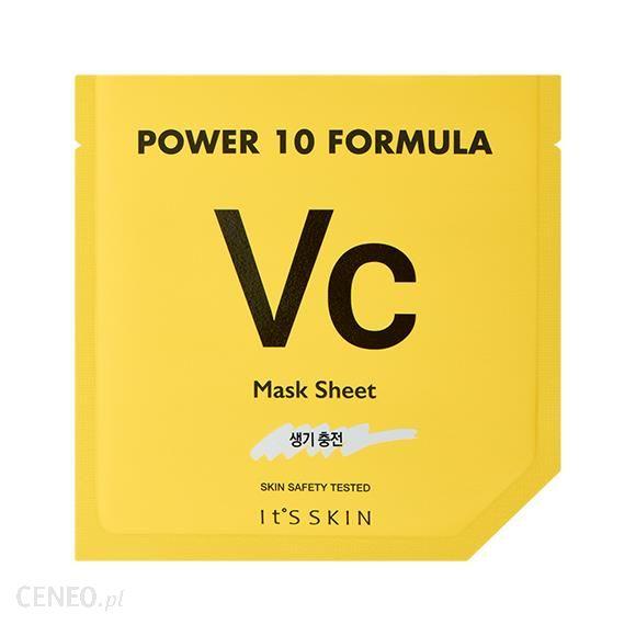 It's SKIN Rozświetlająca Maska w Płacie Power 10 Formula Mask Sheet Vc