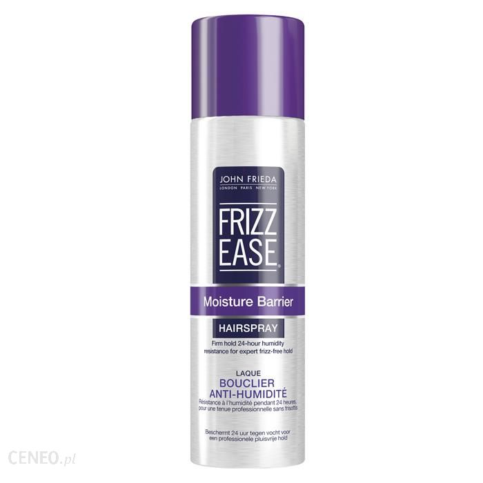 John Frieda Frizz Ease Finish Moisture Barrier Firm Hold Hair Spray - super-mocny lakier do włosów 250ml