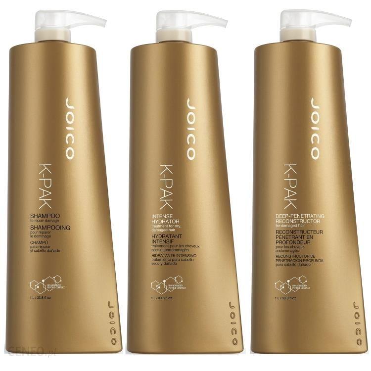 Joico KPak zestaw regenerujący szampon + rekonstruktor + hydrator 3x1000 ml
