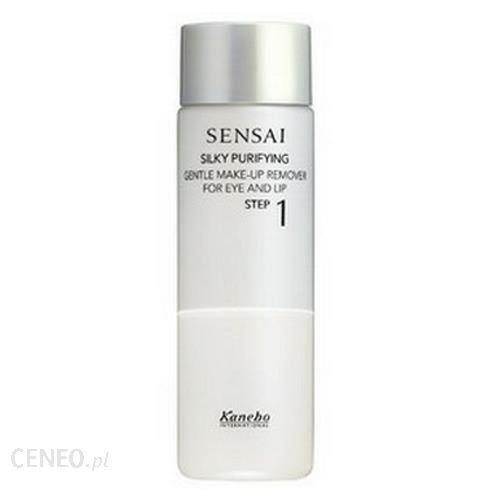 Kanebo Sensai Silky Purifying Gentle Make-Up Remover For Eye And Lip 2014 Płyn Do Demakijażu Oczu I Ust 100Ml