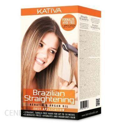 Kativa Brazilian Straightening Keratin Argan Oil do Prostowania Keratynowego 145ml