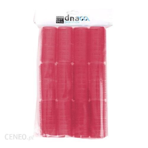 KIEPE DNA Evolution Wałki do włosów plastikowe rzep 12 szt średnica 36 mm czerwone