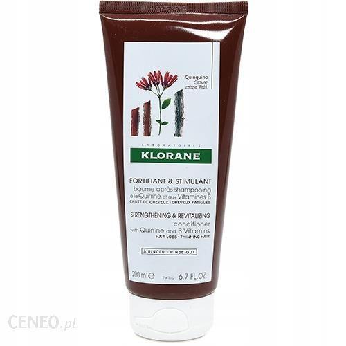 Klorane balsam do włosów na bazie chininy i witamin B