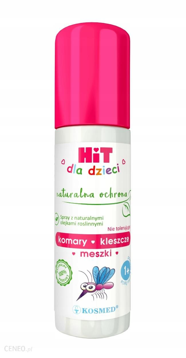Kosmed Spray na komary kleszcze i meszki powyżej 1. roku życia 100 ml