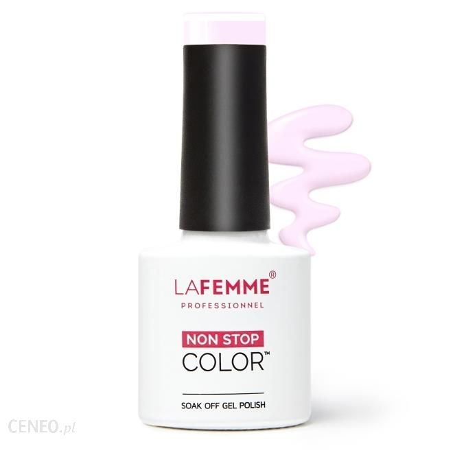 La Femme Lakier Hybrydowy Uv/Led H165 Cotton Candy 8G