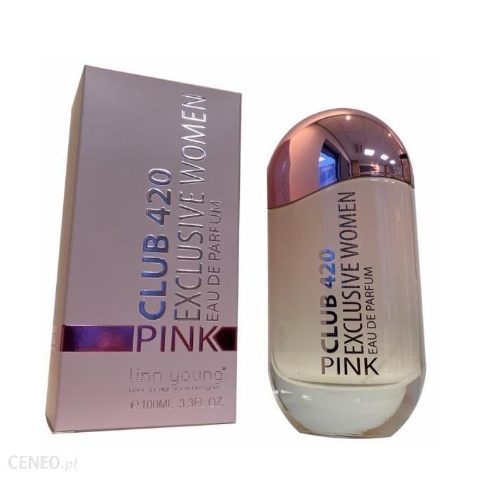 Linn Young Club 420 Pink Exclusive Women Woda Perfumowana Spray 100Ml