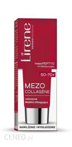 Lirene Mezo Collagene 50-70+ Całonocna Maska Liftingująca 50Ml