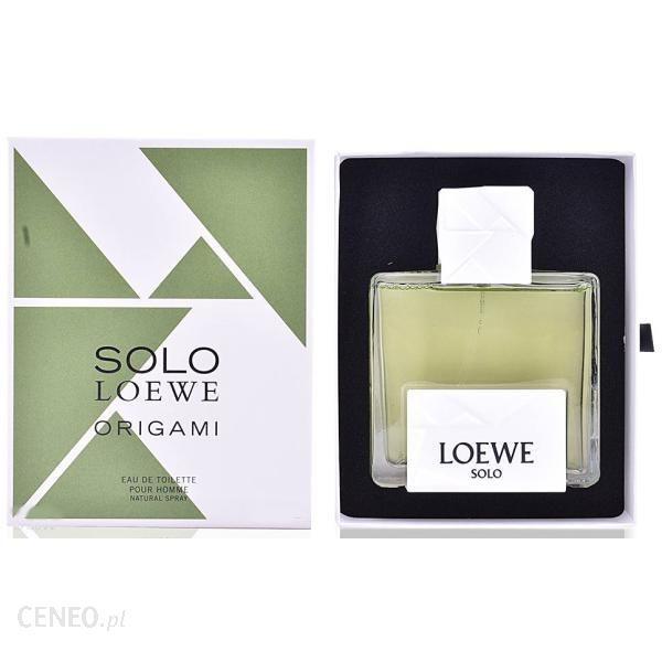 Loewe Solo Loewe Origami woda toaletowa 100ml