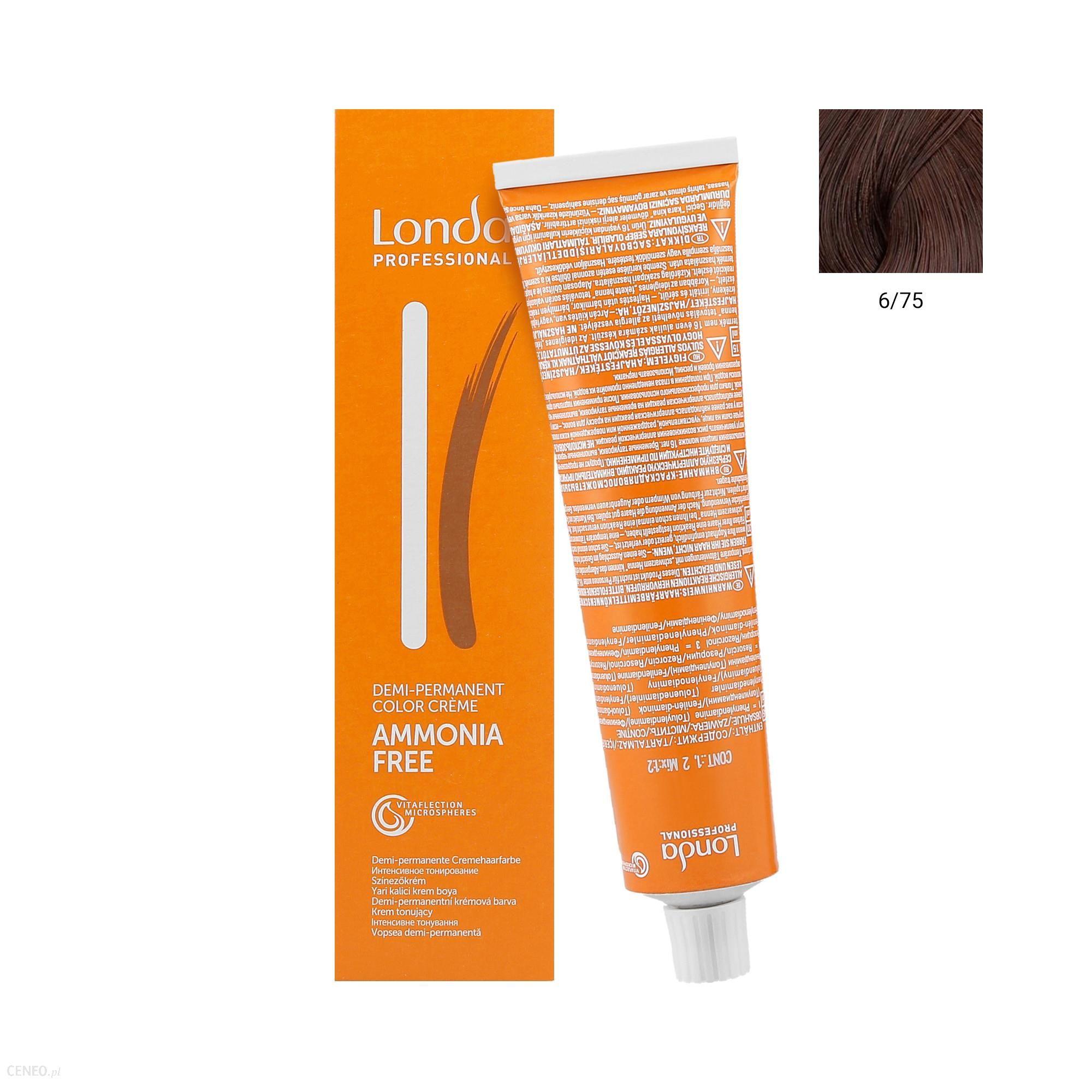 Londacolor Krem tonujący do włosów 60ml Intensive Toning 6/75