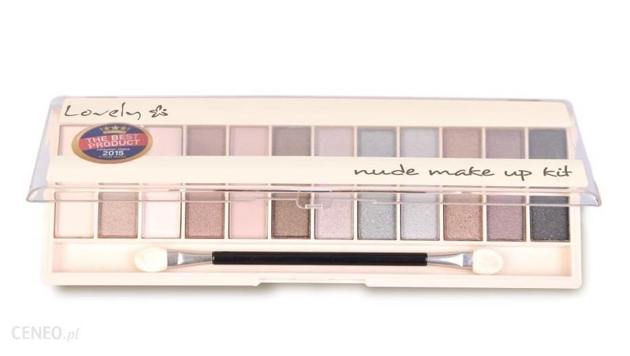 Lovely Nude Make Up Kit Paleta 12 Cieni 6g